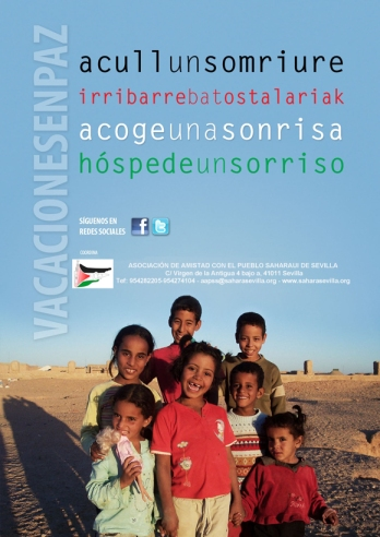 acogida de niños y niñas saharauis