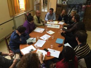 Reunión ASONGD-PSOE. 3 de marzo de 2015
