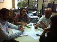 Reunión ASONGD-UPyD. 30 de abril
