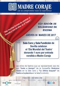 Madre Coraje y Día Mundial del Teatro 30M