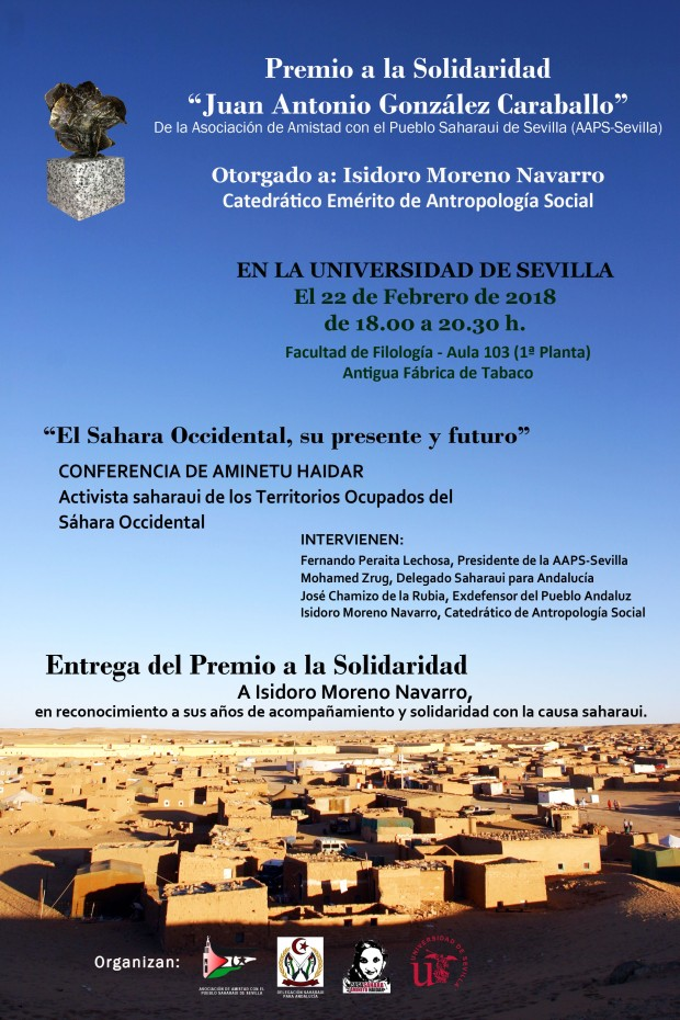 22-02-18 ANUNCIO PREMIO A ISIDORO MORENO